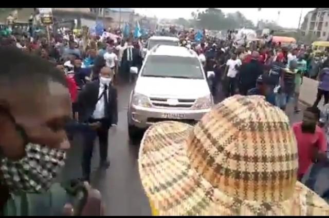 Kinshasa: Jean Pierre Bemba vient de rejoindre la marche anti –Malonda