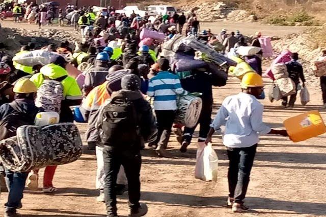 Haut-Katanga: les travailleurs de COMIKA se decofinent et manifestent à Kambove