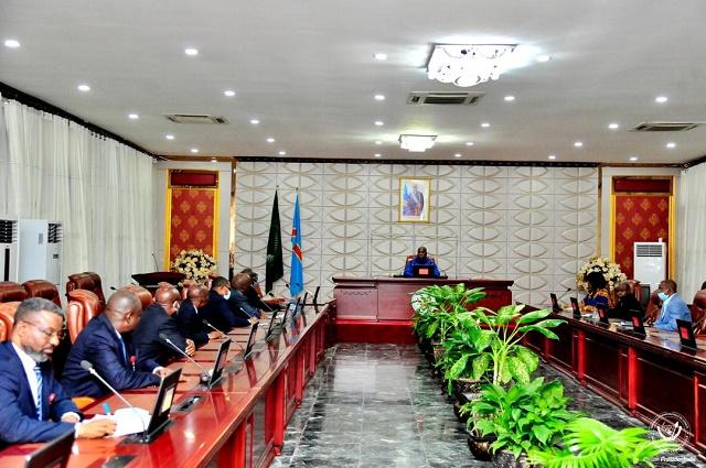 RDC: Felix Tshisekedi a reçus les délégués de l'APUKIN et de l'APUPN