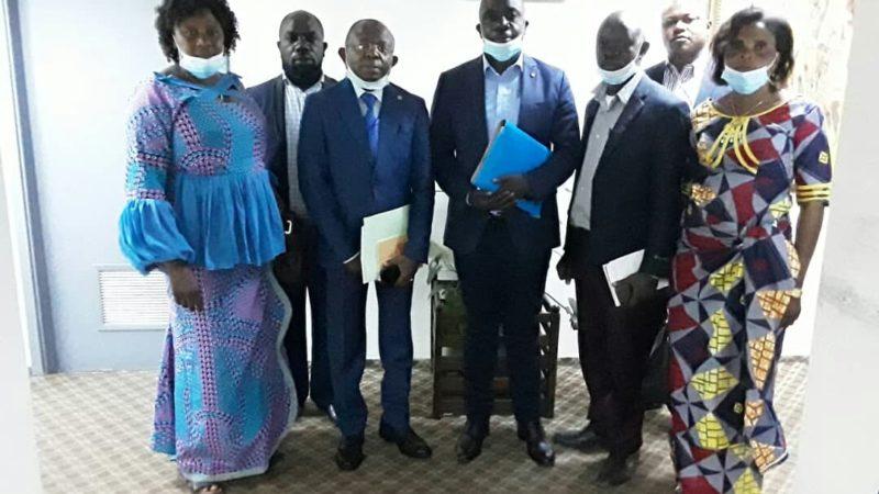 La société civile du Haut Katanga se journe à Kinshasa et plaide également pour l'effectivité de la rétrocession