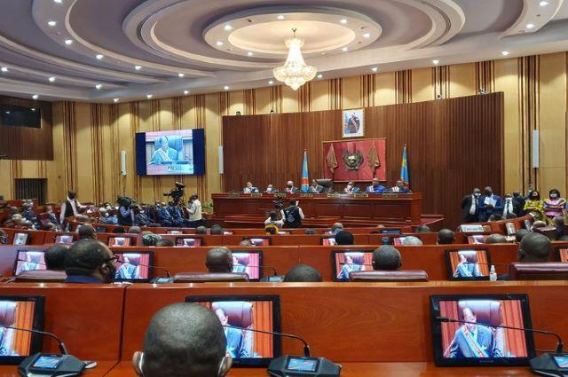 RDC-Senat: le bureau d'âge installé par le Secrétaire général