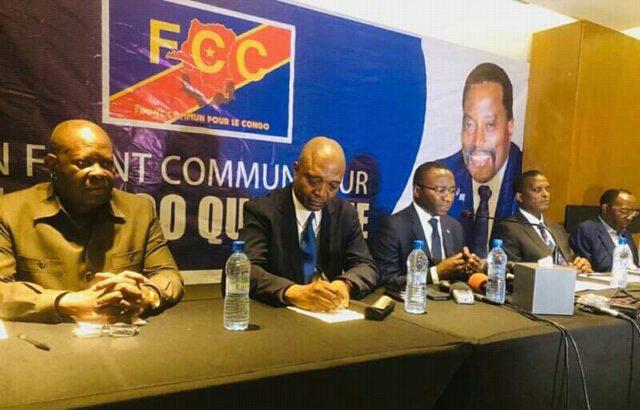 Crise institutionnelle en RDC: le FCC ne compte rien lâcher à Félix Tshisekedi