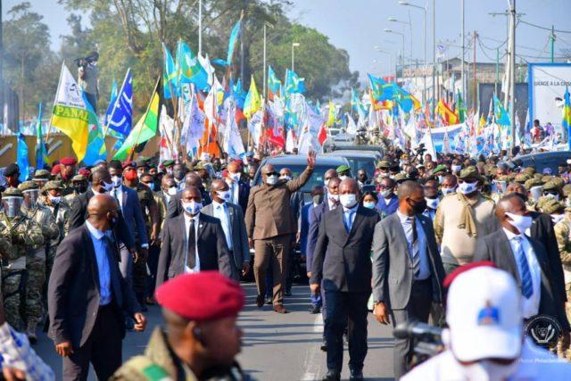 RDC: l'insécurité au menu du séjour de Félix Tshisekedi à Goma