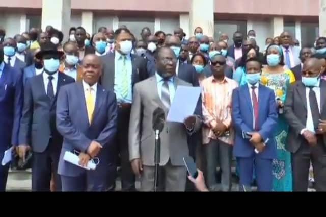 RDC:305 Députés FCC réaffirment leur soutien à Jeanine Mabunda et condamnent les tentatives de débauchage