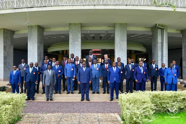 RDC: les gouverneurs de province s'alignent à la  la vision de l'Union sacrée de la Nation