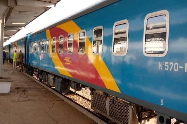 Lubumbashi-SNCC: départ d'un premier train de luxe semi directe plus de dix mois après