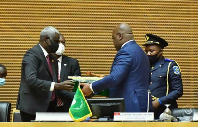 Afrique: Félix Tshisekedi officiellement président de l'Union Africaine