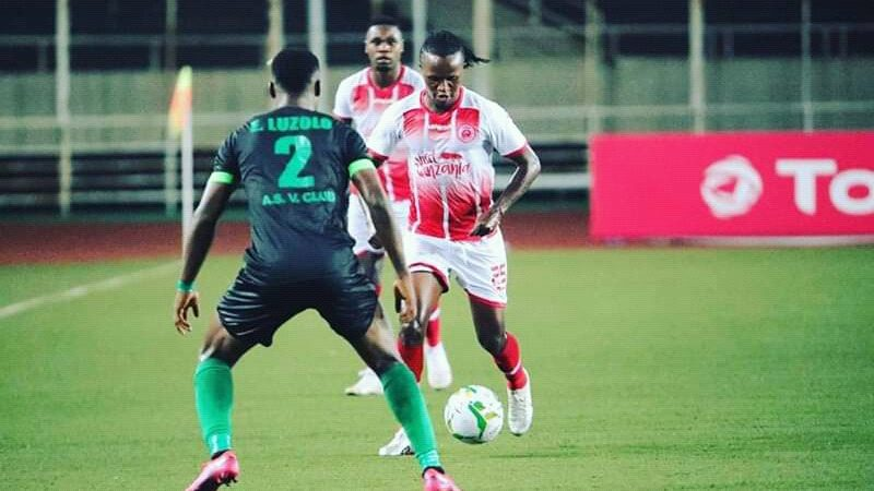Sport: Vita Club a été battu par Simba de Tanzanie 0-1 à Kinshasa