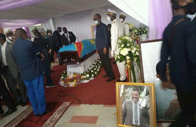 RDC: Henri Thomas Lokondo honoré avant son enterrement