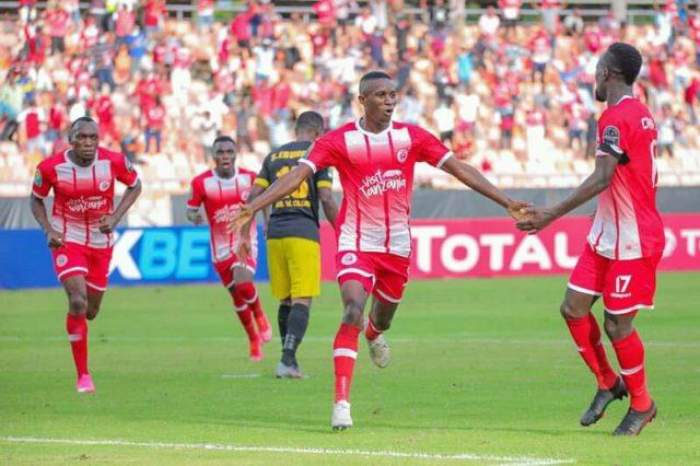Caf: V-Club battu 4-1 et éliminé par Simba