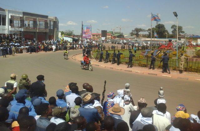 Kolwezi: des activités commerciales et les écoles fermées avant l'arrivée du président