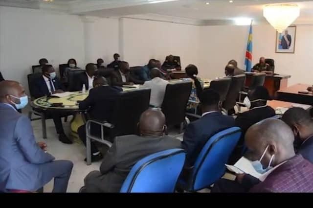 Nord Kivu-État d'urgence : les autorités militaires sollicitent l'accompagnement des élus provinciaux