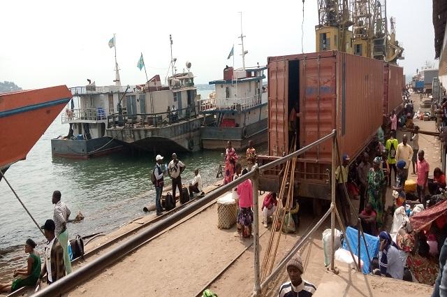 RDC : le port de Kalemie, poumon économique de la province du Tanganyika