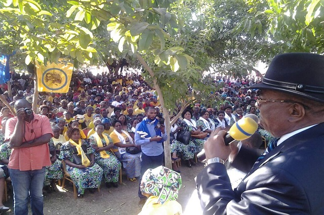 La Plateforme électorale Ensemble a organisé un meeting à Likasi  dans province du haut Katanga