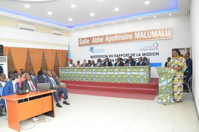 RDC:MichaëlleJean salue l'audit du fichier électoral de laCENI