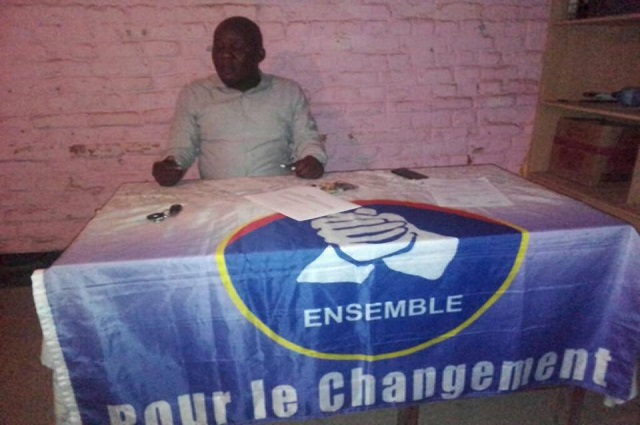 La Mairie n'autorise pas  la tenue de la  réunion de la plateforme Ensemble le 30 mai à Kolwezi