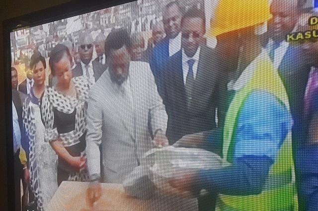 RDC : Lancement des travaux de construction d'un port à sec à Kasumbalesa