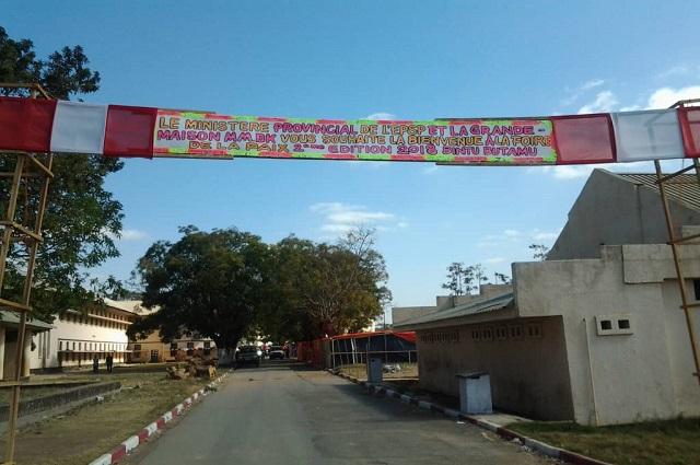 Lubumbashi : Pande Kapopo s'insurge contre l'installation d'une kermesse dans l'enceinte du complexe Kiwele