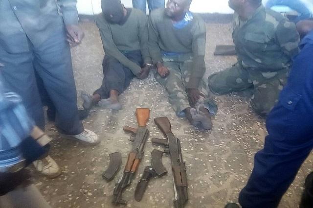 Likasi :  5 cambrioleurs  appréhendés par la police