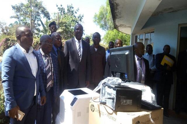 La Monusco  dote l'Assemblée  provinciale de Kamina  des matériels informatiques