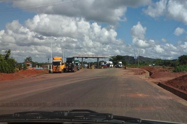 Haut-Katanga: vive tension au poste de péage Kanyaka