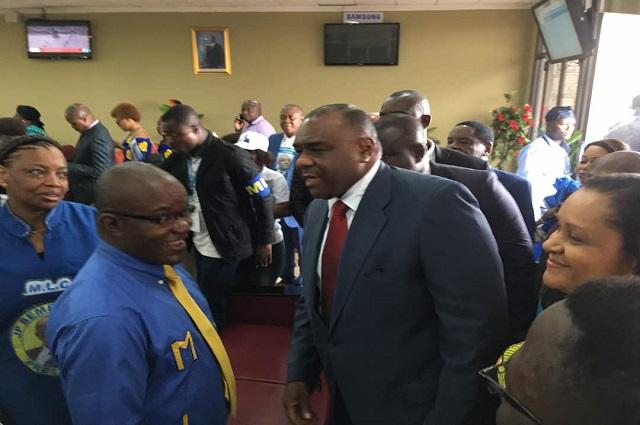 RDC:Jean-Pierre Bemba vient d'arriver à Kinshasa