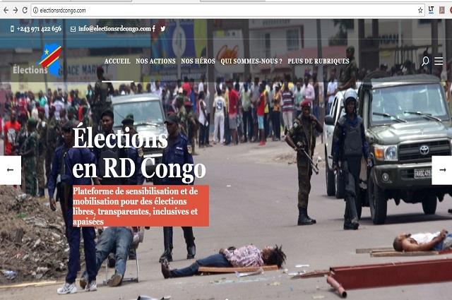 RDC: 5 organisations de la société civile créent une plateforme d'informations électorales en ligne