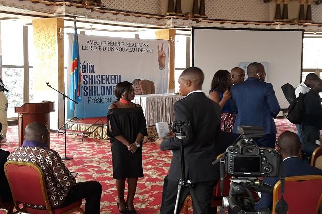 RDC : Felix Tshisekedi présente son programme cet après-midi à l'Hôtel Béatrice