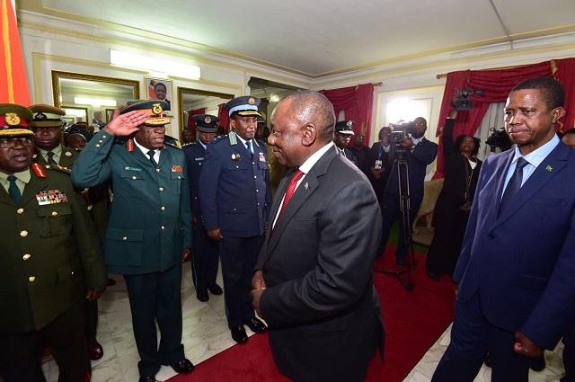 RDC: le Président Sud-Africain est arrivé à Kinshasa