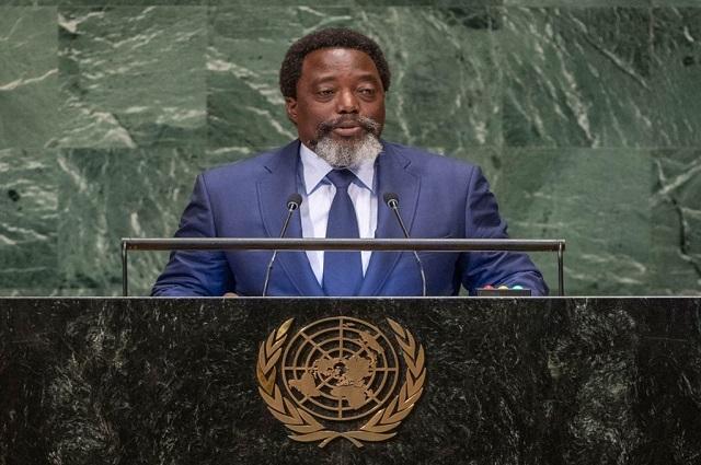 ONU : Kabila exige le retrait de la Monusco en RDC
