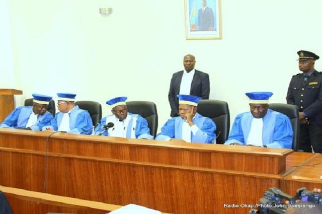 RDC : les arrêts de la cour constitutionnelle sont inattaquables