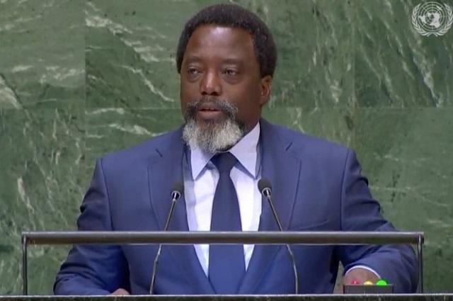 RDC. À l'ONU: Joseph Kabila dénonce l'ingérence de certains pays et exige le retour aux fondamentaux en matière de la démocratie