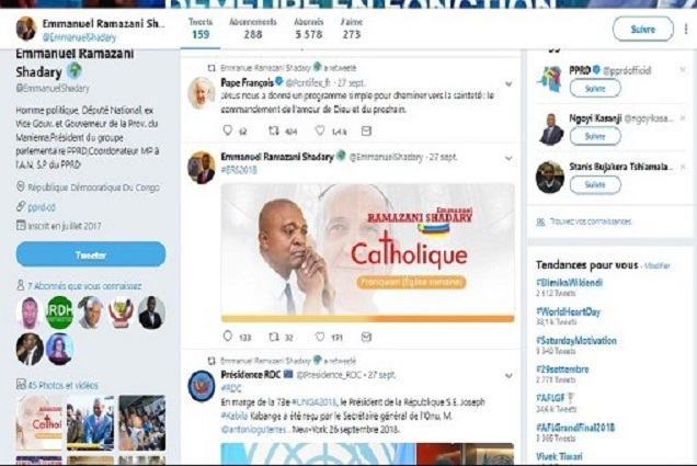 RDC : L'Église Catholique met en garde les politiciens qui utilisent l'imagedu Pontifex