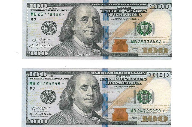 Lubumbashi : les billets de cent dollars avec étoile ont cours légal