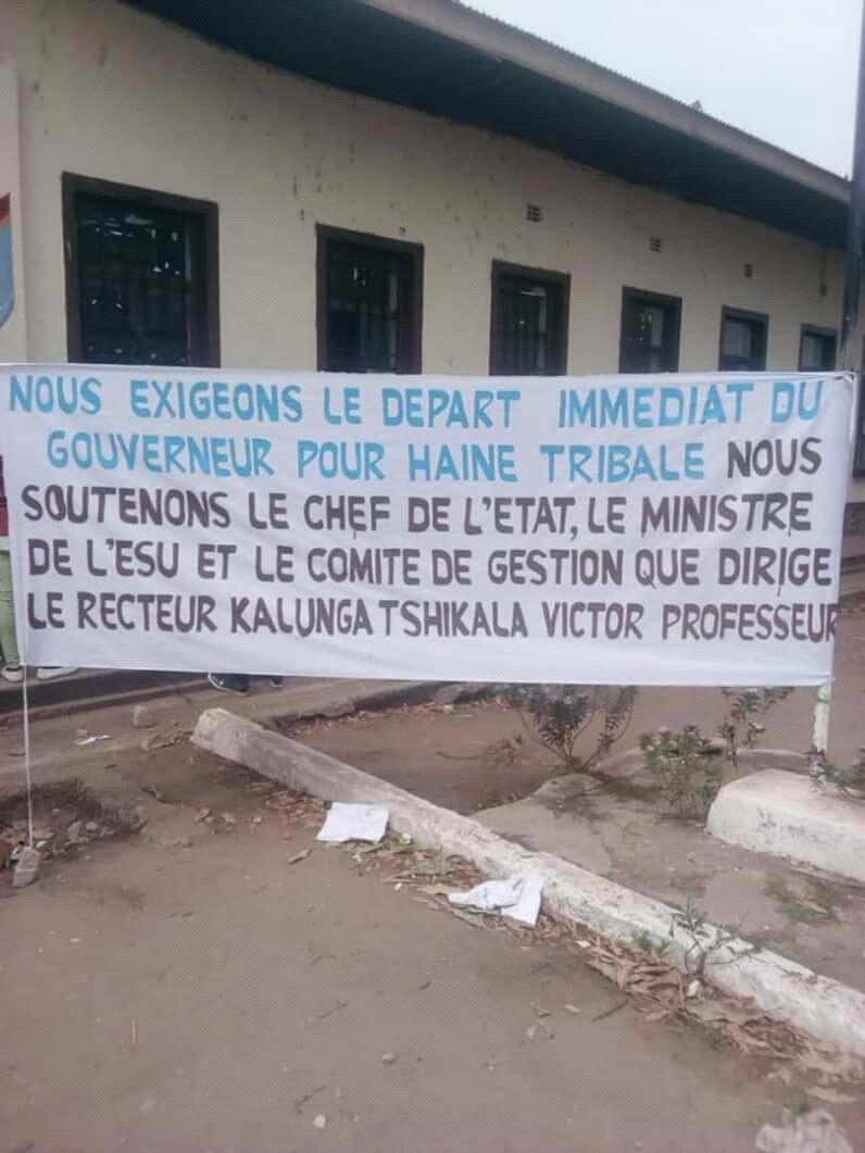 Tanganyika- UNIKAL: les étudiants exigent le départ du gouverneur pour la haine tribale
