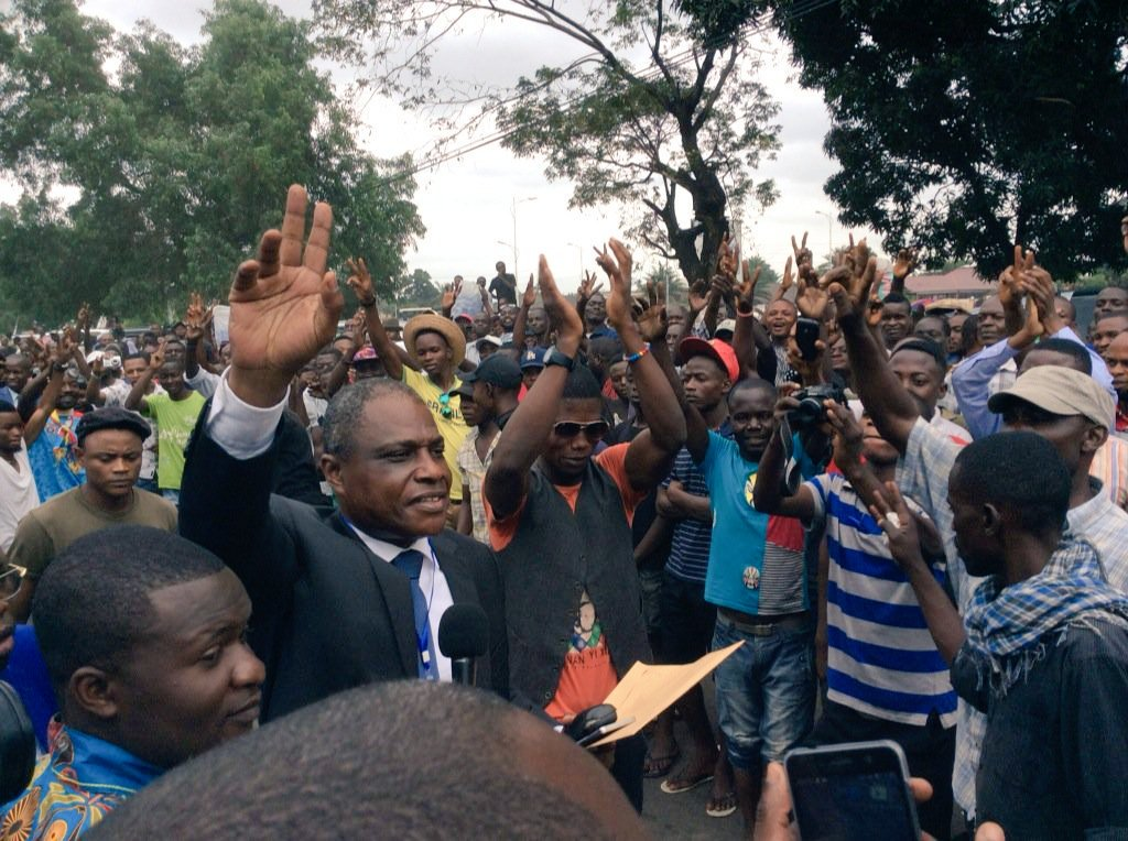 RDC: prévu pour ce 19 décembre au stade Tata Raphael, le meeting de Martin Fayulu aura lieu à la place Sainte -Therese