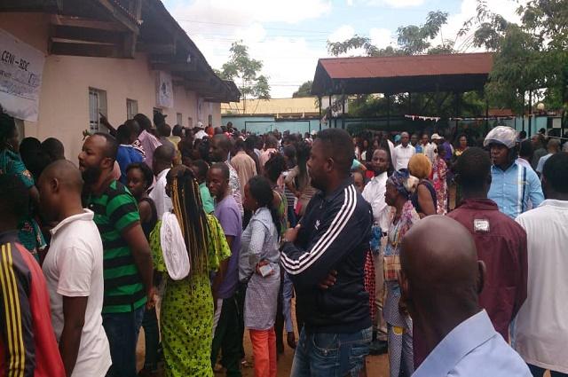 Lubumbashi : à l'heure de clôture du vote,l'engouement reste observé