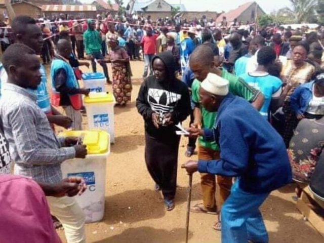 RDC-Elections: À BENI même les vieillards votent ce 30 décembre