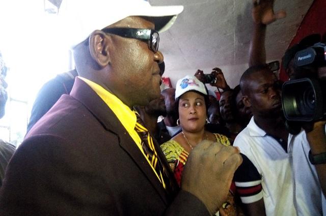 Le candidat Président Pierre-honoré Ngube Ngube  peine à mobiliser à Lubumbashi