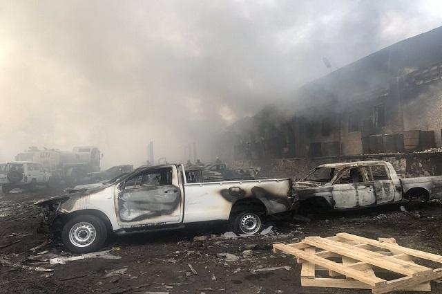 RDC: incendie entrepôt de la CENI, le FCC pointe du doigt Fayulu et la coalition «LAMUKA»