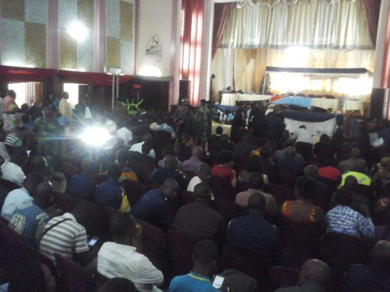 Lubumbashi: procès incidents UNILU le ministère publique charge le colonel YAWEH