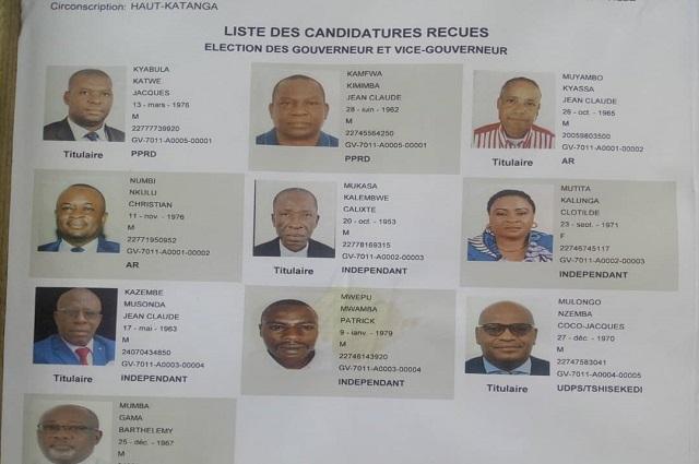 Haut –Katanga: aucune candidature féminine au poste de gouverneur