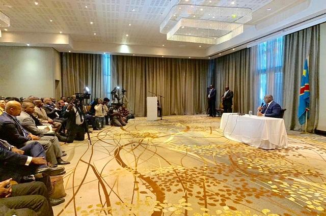 RDC– Félix Tshisekedi:« je ne veux pas qu'on arrête les congolais qui critique le chef de l'Etat»