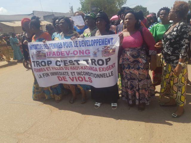 Lubumbashi: Le maire de la ville interdit les femmes  de la société civile de protester contre l'insécurités, viols et cambriolages