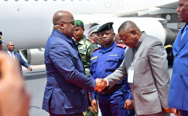 RDC: Félix Tshisekedi est arrivé à Lubumbashi
