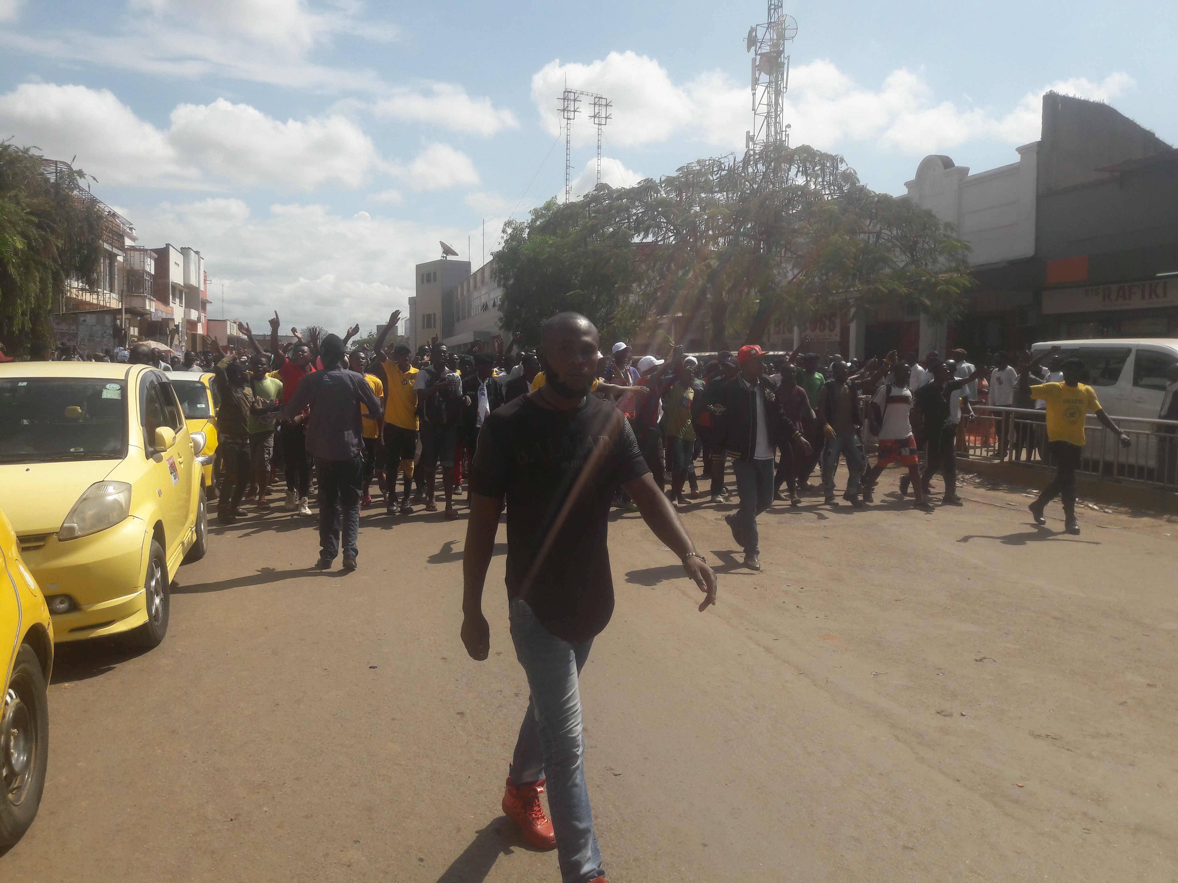 Lubumbashi : des jeunes se mobilisent avant l'arrivée de Moïse Katumbi