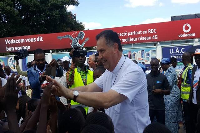 Lubumbashi: visite du 10 éme successeur de Don Bosco