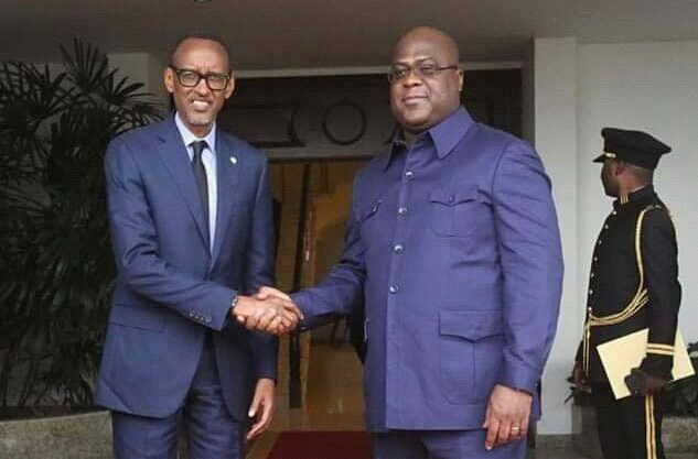 RDC: Félix Tshisekedi en réunion avec Kagame et Lorenço
