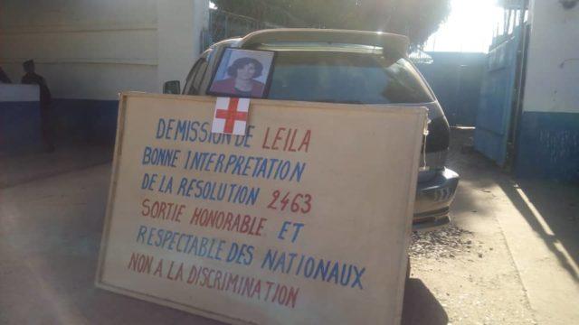 Lubumbashi: les employés de la MONUSCO exigent la démission de Leila Zerrougui