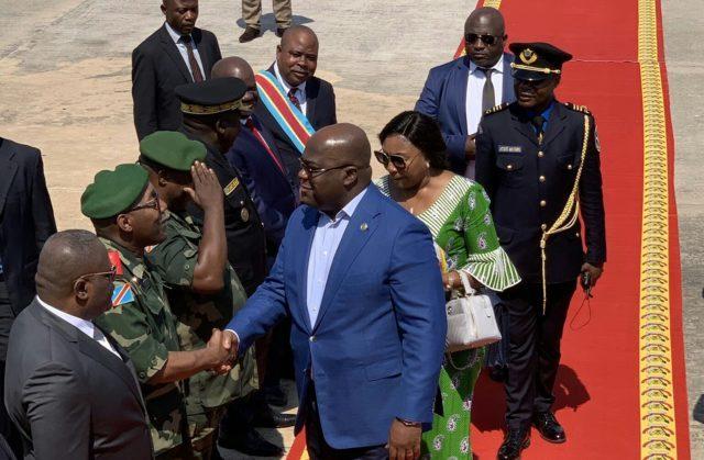 RDC: Félix Tshisekedi s'envole pour l'Afrique du Sud